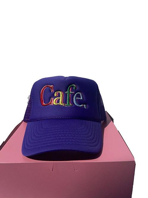 CAFE -S2 Trucker Hat- Purple