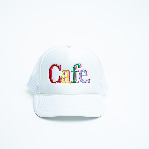 CAFE -S2 Trucker Hat- Snow White