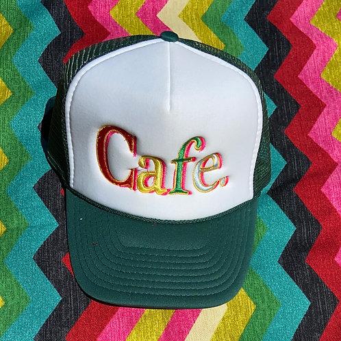 CAFE - Essential Trucker Hat - Forest Green