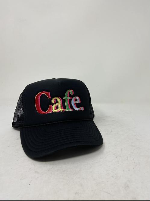 CAFE - Essential Trucker Hat - Black