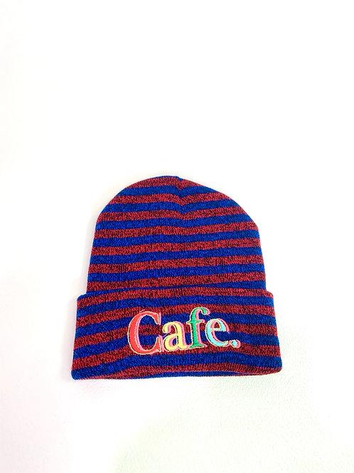 CAFE - Essential Skully - Red/Blue Stripe