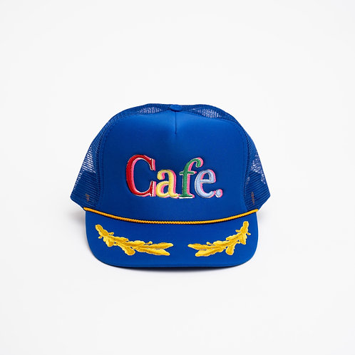 CAFE -S2 Trucker Hat- LIMITED EDITION GENERAL BLUE
