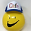 Thumbnail: CAFE - Essential Trucker Hat - White/ Royal Blue