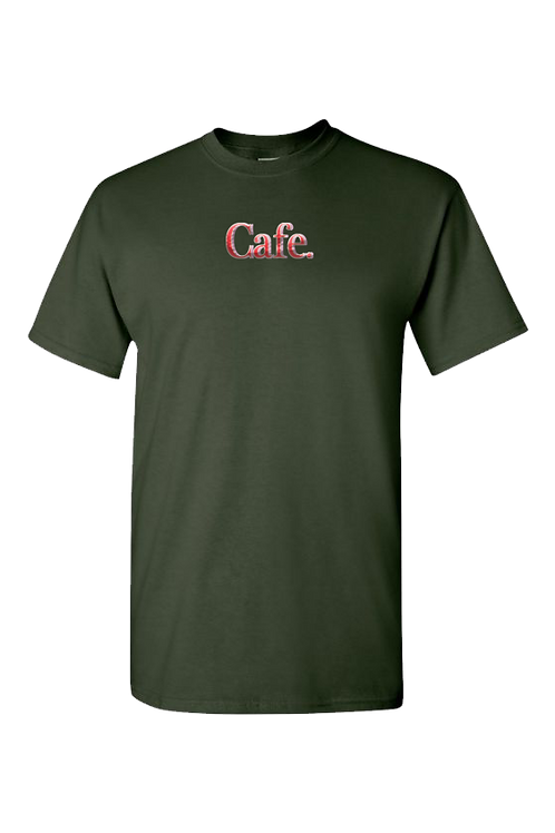 CAFE - Essential Logo Tee - Green
