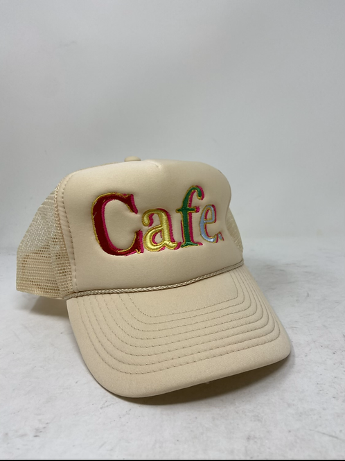CAFE - Essential Trucker Hat - CAFE CREME LIMITED EDITION