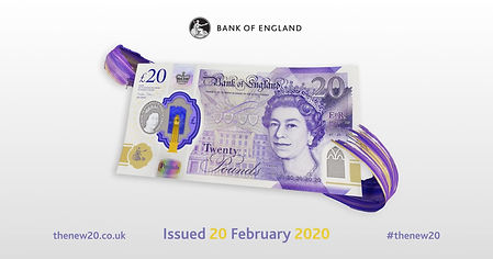 Bleach Productions: The New £20 note advertisement