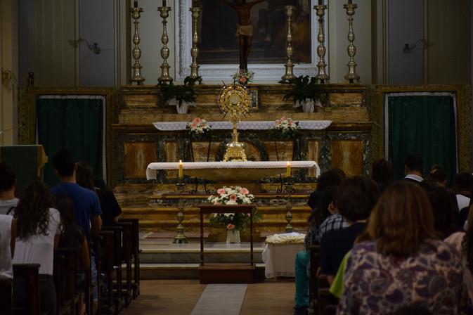 Adorazione Eucaristica - voci