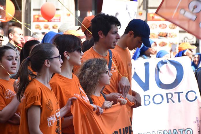 Voci del Verbo - marcia per la vita roma