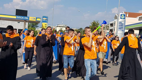 Giovani dall'Albania
