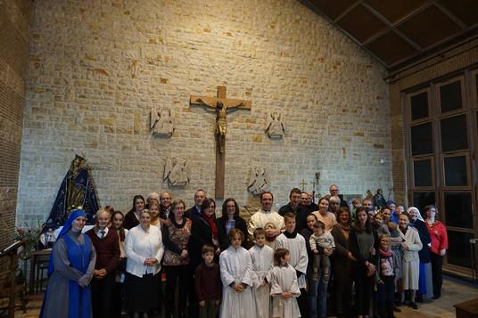 Foto di Gruppo - Festa Cristo Re Olanda.