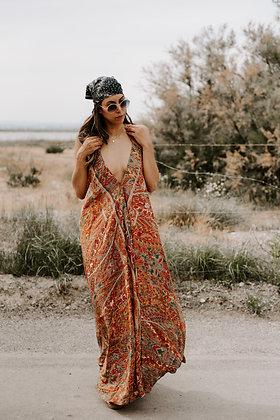 Maxi dress dos nu Laya Ambre