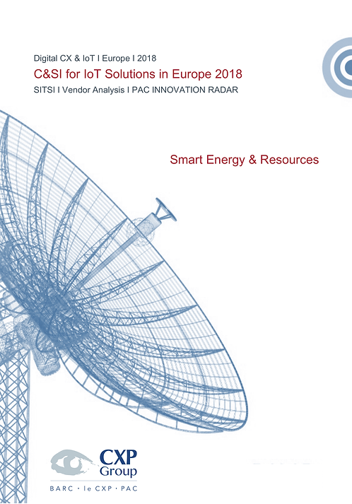C&SI for IoT Solutions in Europe - Smart Energy & Resources