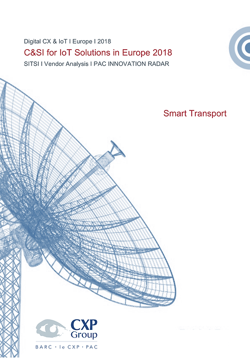 C&SI for IoT Solutions in Europe - Smart Transport