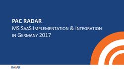 MS SaaS Germany 2017
