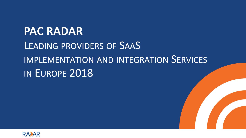 SaaS Providers Europe 2018