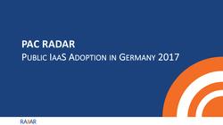 Public IaaS Germany 2017