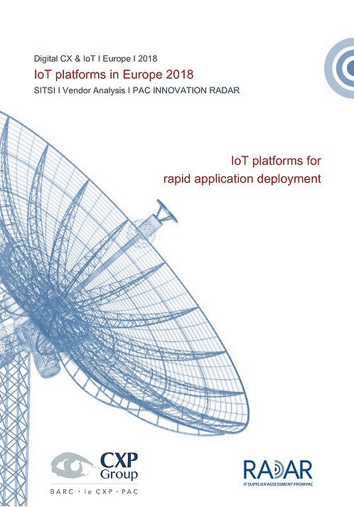 IoT Platforms for Rapid Application Deployment in Europe 2018