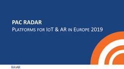 Platforms IoT AR