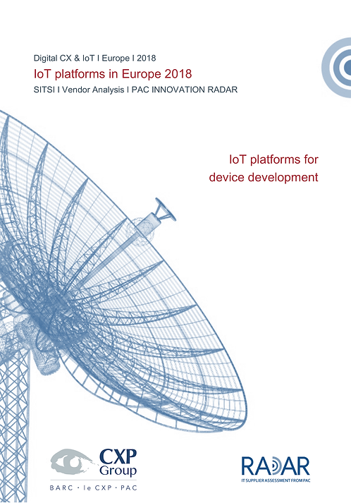 IoT Platforms for Device Development in Europe 2018
