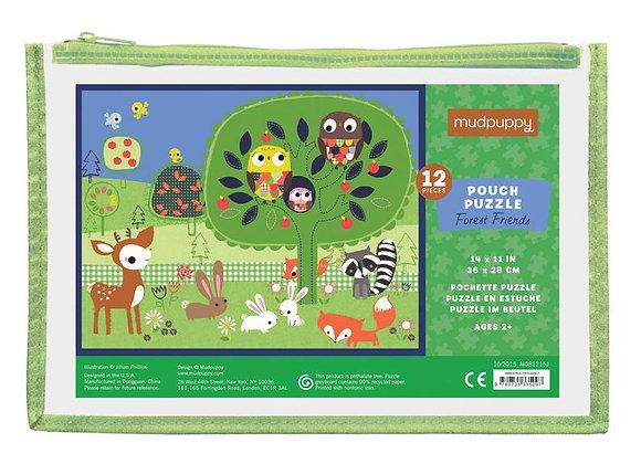 Puzzle 12 pièces Les amis de la forêt - Mudpuppy