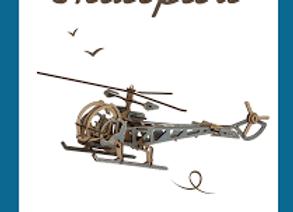 Maquette Hélicoptère - Dès 6 ans - Kelpi Made in France