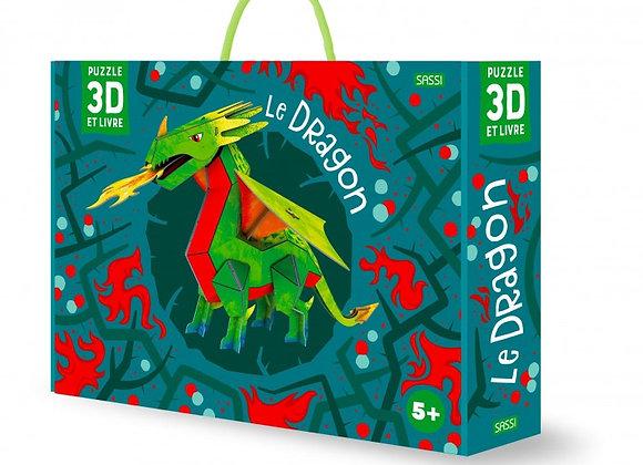 Le Dragon, livre et maquette - Sassi