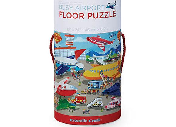 Puzzle 50 pièces L'Aéroport - Crocodile - Creek