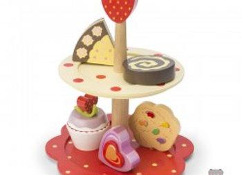 Présentoir à gâteaux en bois - Le Toy Van