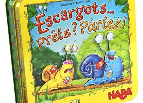 Escargots...Prêts ? Partez ! Dès 5 ans - Haba