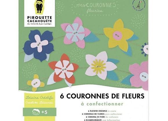 Kit couronnes de fleurs - Pirouette-Cacahuète