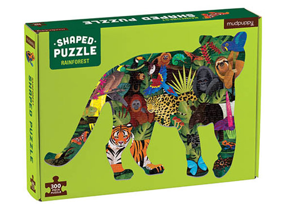 Puzzle 300 pièces La jungle - Mudpuppy