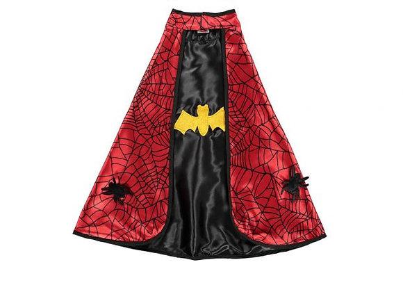 Cape réversible Batman/Spiderman avec masque - 4-6 ans