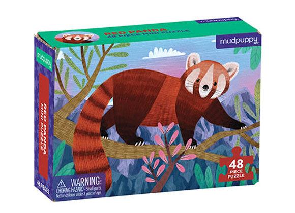 Mini Puzzle 48 pièces Panda roux - Mudpuppy