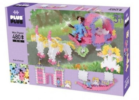 ++ Plus Plus Box mini pastel 480 pièces - Dès 5 ans