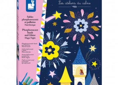 Sable phosphorescent et paillettes nuits féeriques - Dès 5 ans