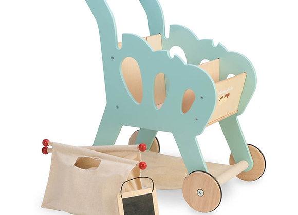 Chariot de course en bois et toile - Le Toy Van