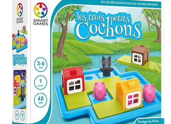 Les 3 petits cochons - Dès 3/4 ans - Smart Games
