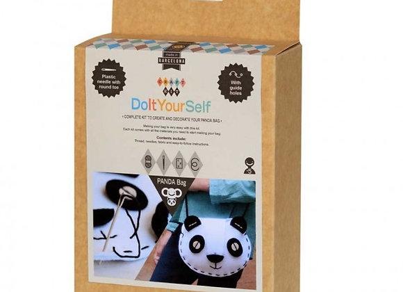 Kit sac couture Panda dès 5 ans - Apunt