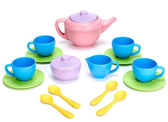 Service à thé multicolore pour deux - Green Toys