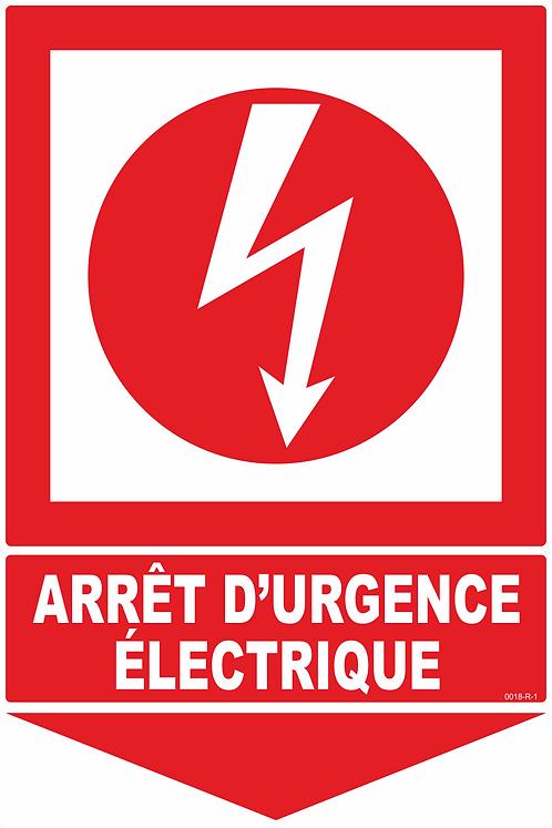 ARRET URGENCE ELECTRIQUE