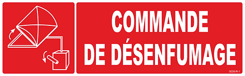 COMMANDE DESENFUMAGE