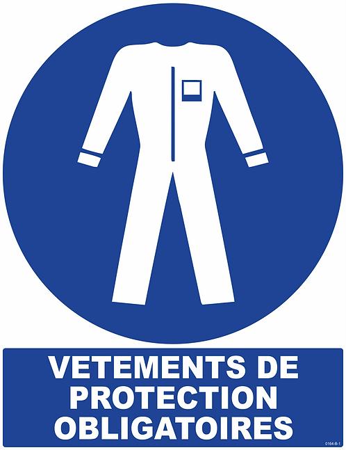 VETEMENTS DE PROTECTION