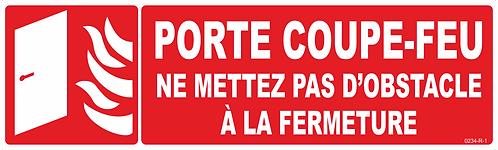 PCF PAS D'OBSTACLE