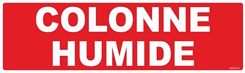 COLONNE HUMIDE