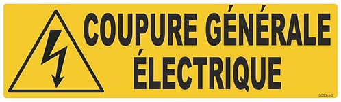 COUPURE ELECTRIQUE GENERALE