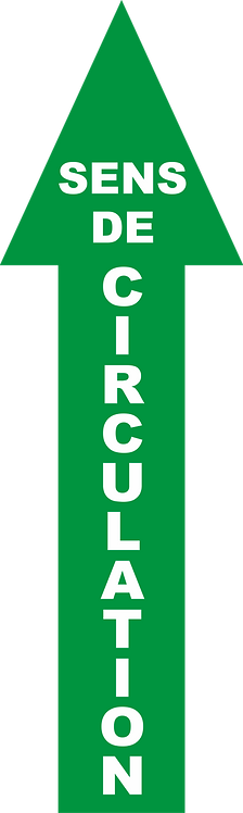 SENS DE CIRCULATION