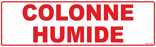 COLONNE HUMIDE BLANC