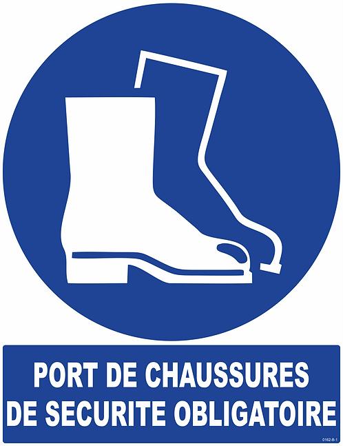 PORT DE CHAUSSURES DE SECURITE