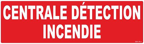 CENTRALE DETECTION INCENDIE