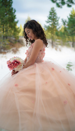 Quinceañera Photoshoot in Tahoe